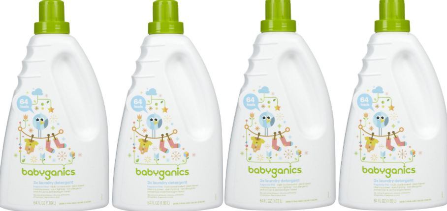 Babyganics 3X Top Most Selling Baby Laundry Detergents 2017