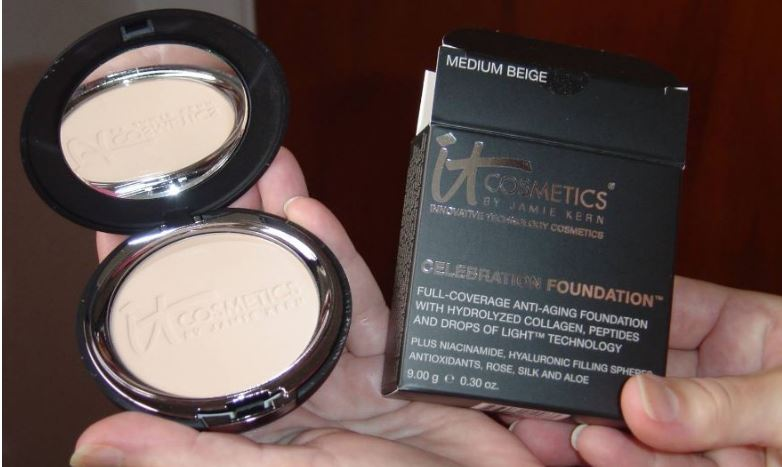 IT Cosmetics Celebration Foundation Top Most Popular Selling Powder Foundations 2018