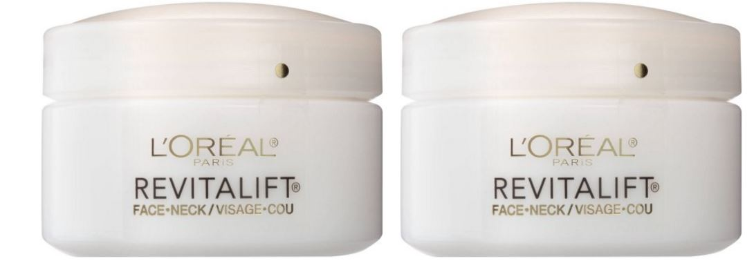 L'Oreal Paris RevitaLift Anti-Wrinkle & Firming Face & Neck Moisturizer Top Popular Selling Neck Firming Creams 2019