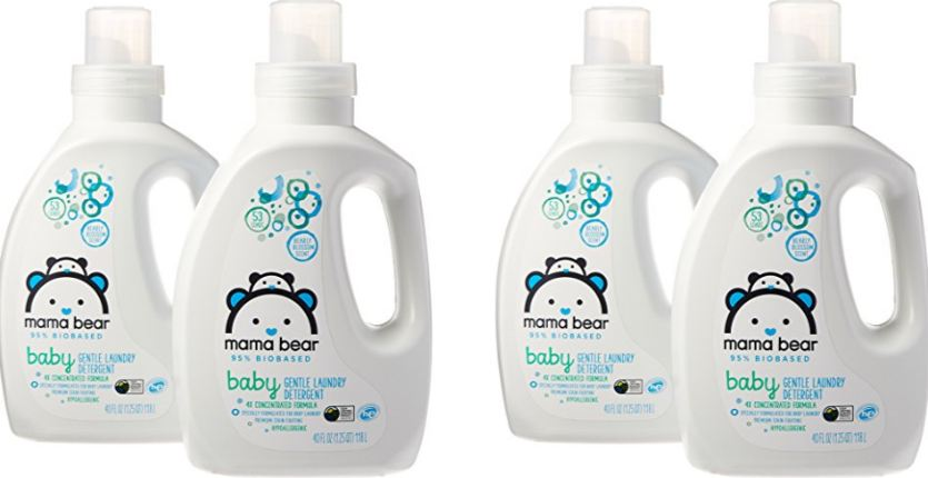 Mama Bear Gentle Care Top Most Popular Selling Baby Laundry Detergents 2018
