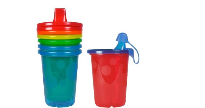 The first years take and toss Sippy cups