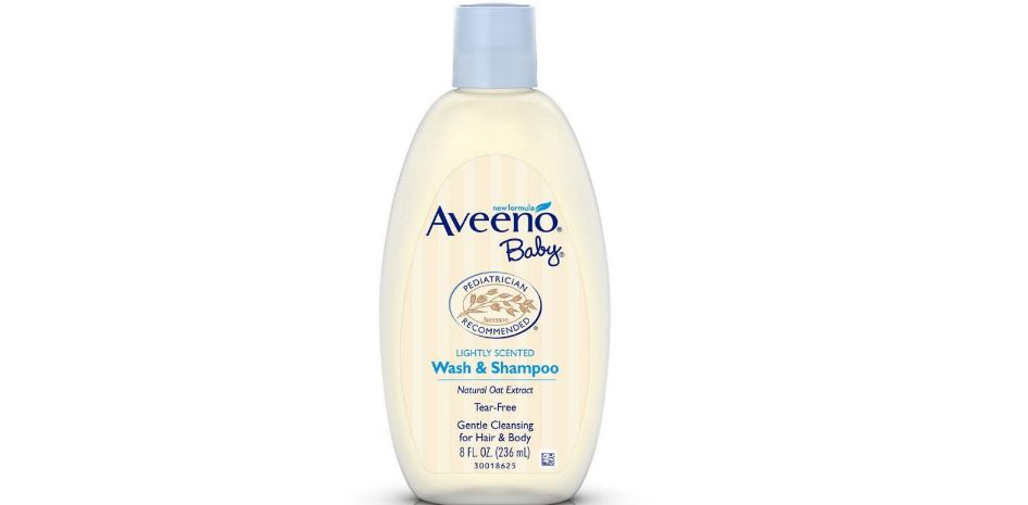 Aveeno Baby Wash and Shampoo Top Best Selling Baby Shampoos in 2017