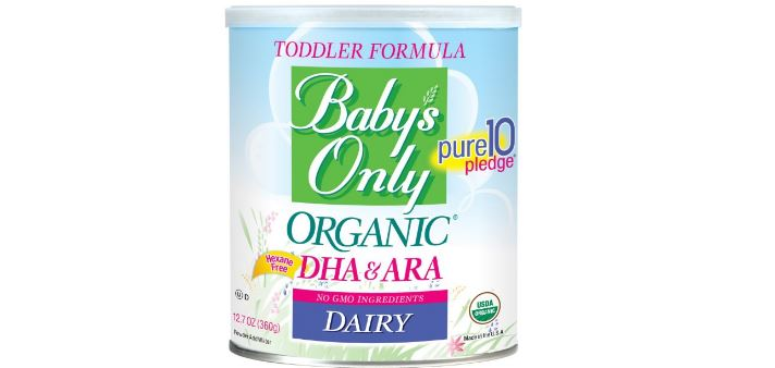 Baby's Only Organic Formula with DHA and ARA Top 10 Best Selling Baby Formula Brands in 2017