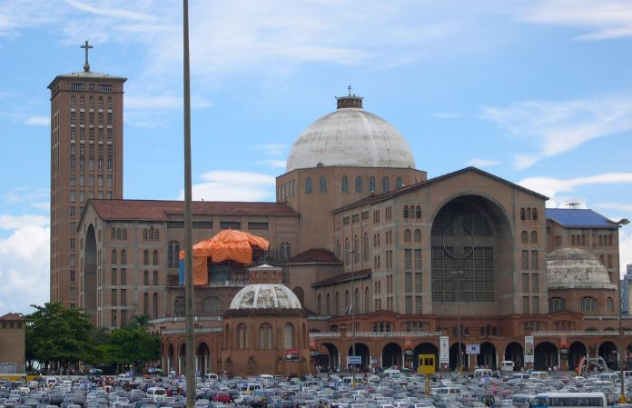 Basilica of the National Shrine of Our Lady of Aparecida Top Most Famous Largest Churches in The World 2018