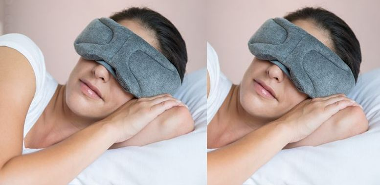 Bluetooth Audio Sleep Music With Phone Head Mask