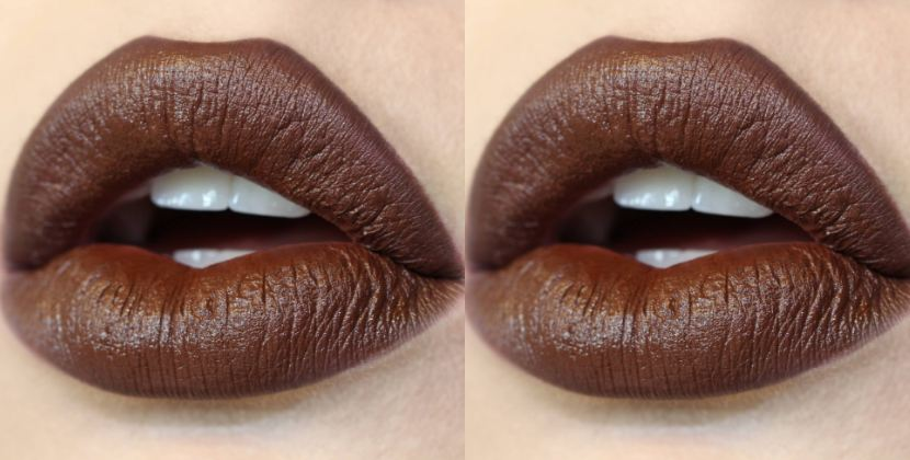 Chocolate Top Popular Selling Fall Lipstick Colors 2018
