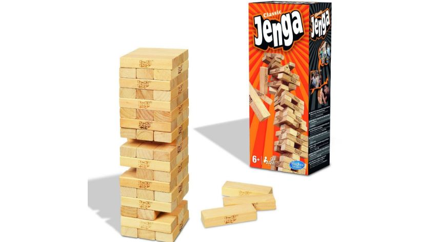 Hasbro Jenga Classic game Top Famous Selling Kids Toys and Games in 2019