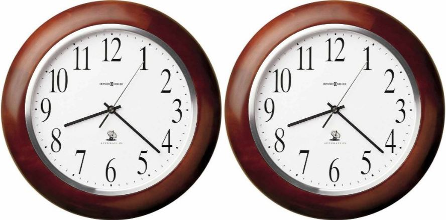 Howard Miller Murrow 625-259 Atomic Wall Clock Top Most Selling Atomic Wall Clocks 2017