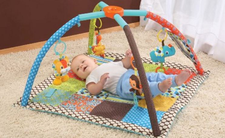 Infantino Square Twist and Fold Activity Gym Top 10 Best Selling Baby Activity Mats in