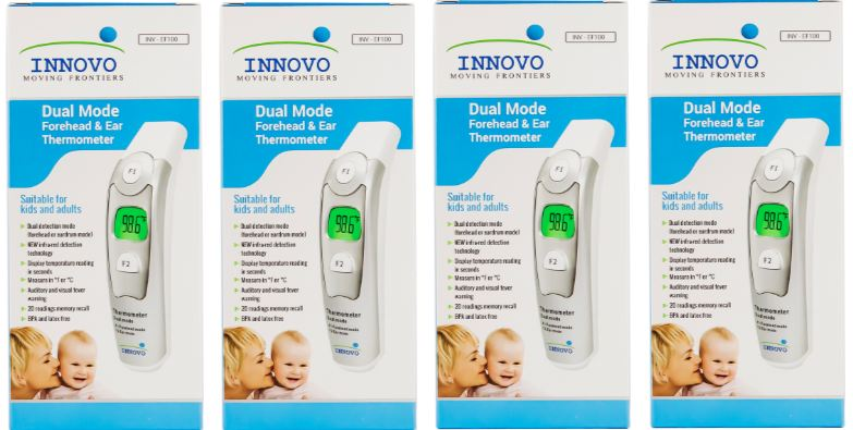 Innovo Forehead & Ear Thermometer