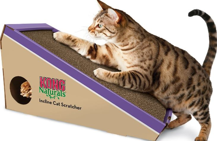 KONG natural incline scratcher toy Top 10 Best Selling Cat Toys