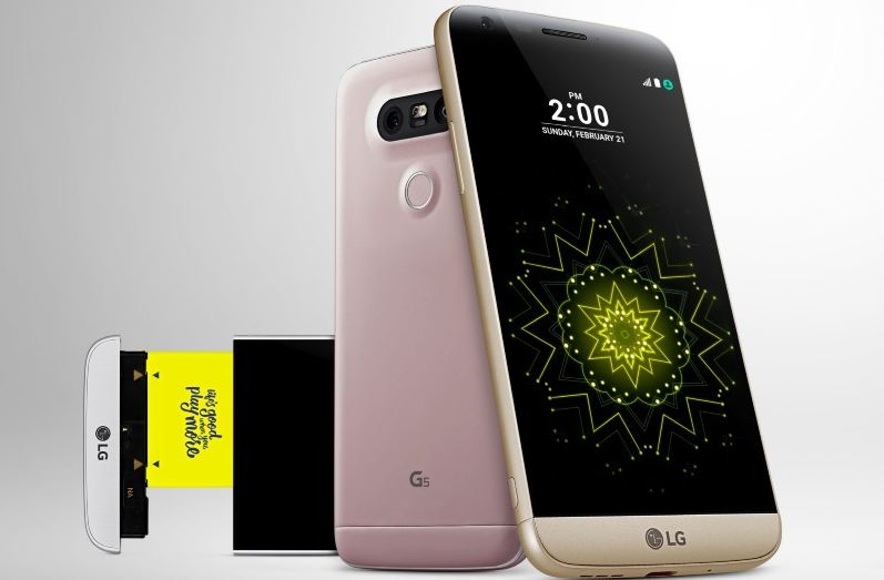 LG G5 Top Most Popular Android Phones For Girls 2018