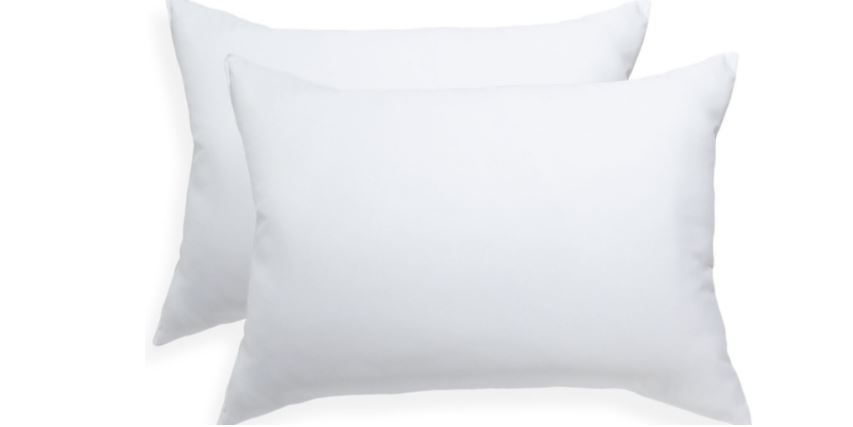 Mainstays Microfiber two pieces pillow. White. Standard Top Famous Selling Bed Pillows 2019