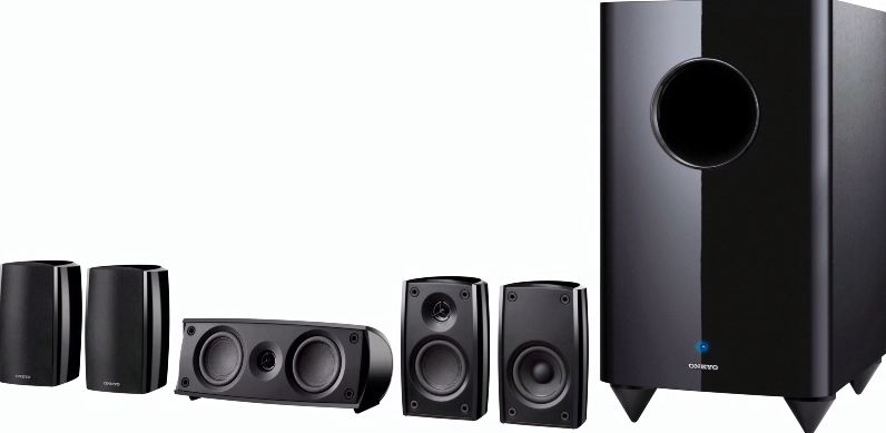 Onkyo SKS-HT690 Top Popular Selling 5.1 Speaker Systems For Home Theater 2018