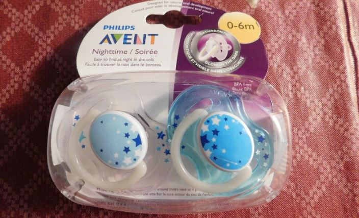 Philips Avent BPA free nighttime pacifier Top Famous Selling Baby Pacifiers of 2019