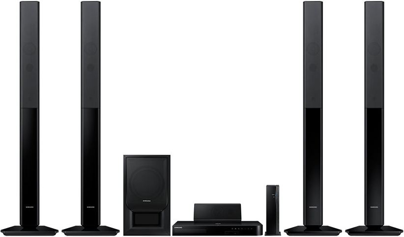 Samsung 5.1 channel ht-h5550w home theater