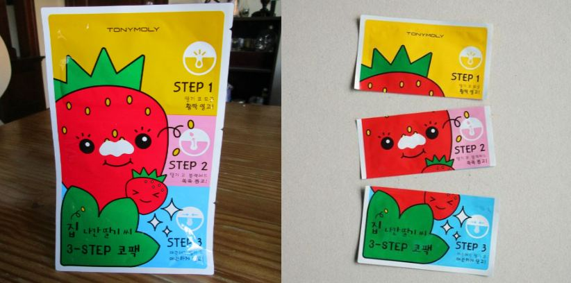 TonyMoly Strawberry 3 Step Nose Pack Top 10 Best Selling Korean Beauty Products