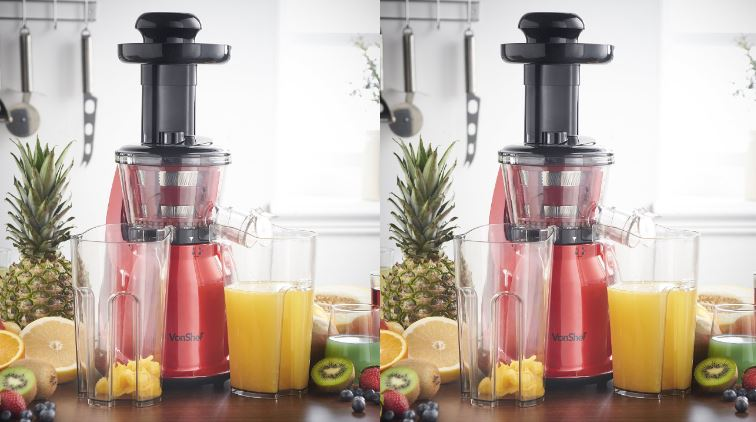 Vonshef Professional Slow Fruit Vegetable Masticating Juicer