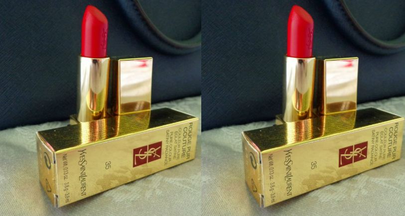 YSL Rouge Pur Couture Top 10 Best Selling Red Lipsticks