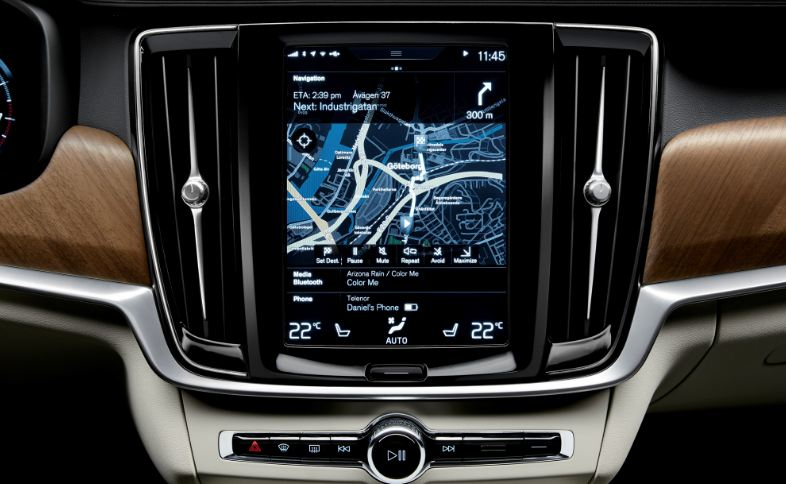 2017 Volvo S90 Top Popular Selling Navigation Systems 2018