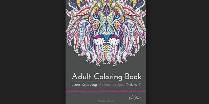 Adult Coloring Stress Relieving Animal Designs Top Most Famous Selling Adult Coloring Books 2018