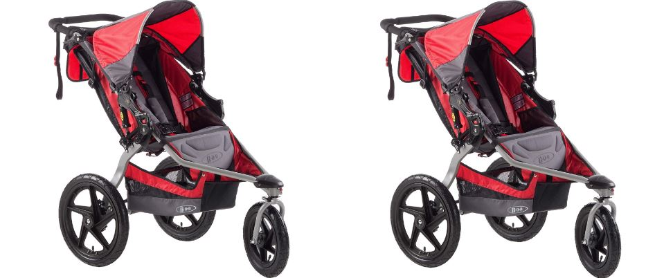 BOB Stroller Strides Single Fitness Stroller, Red Top Famous Selling Baby Strollers of 2019