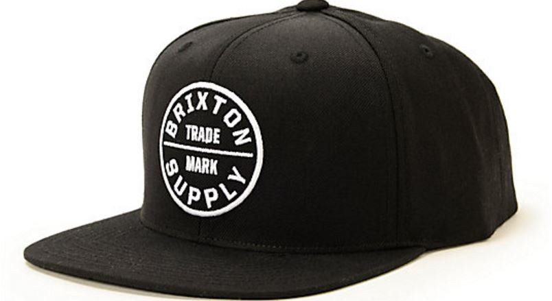 Brixton Supply Oath III Snapback Hat Top Best Selling Snapbacks for Men in 2017