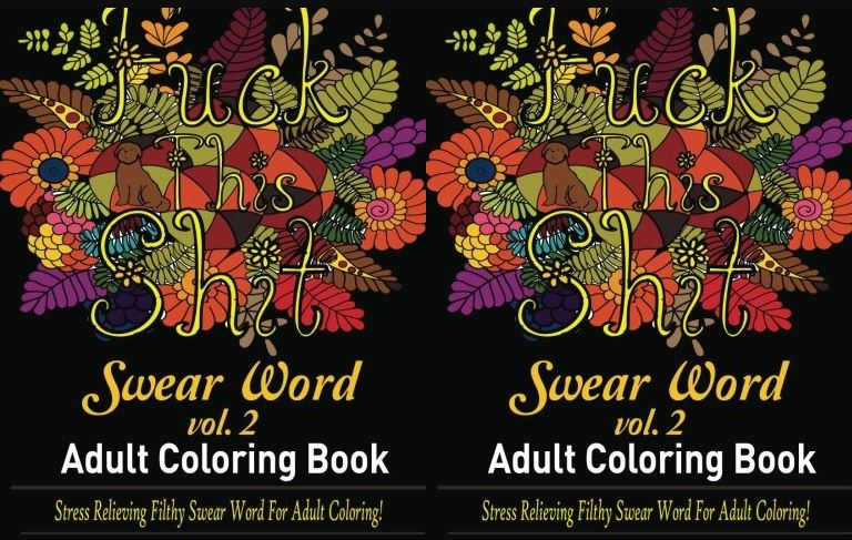 Fuck That Shit Top Famous Selling Adult Coloring Books 2019