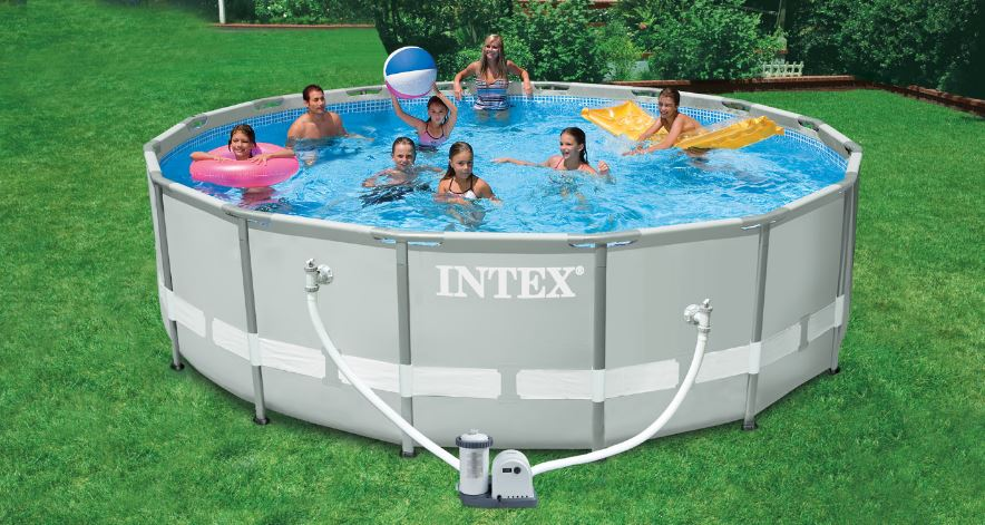 INTEX Metal Frame Pool Set Top Famous Selling Above Ground Swimming Pools 2019