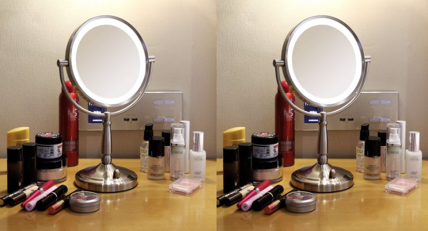 Miusco 7X Lighted Magnifying Double Side Makeup Mirror Top Famous Selling Lighted Makeup Mirrors 2019