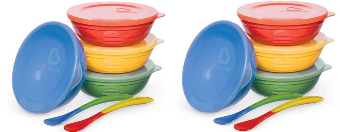 Munchkin love-a –bowls ten piece feeding set Top Most Famous Selling Baby Feeding Products for Infants and Kids 2018