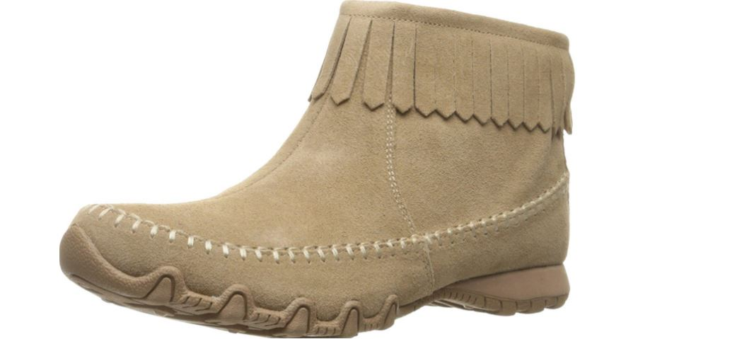 Skechers women's bikers- Indian summer ankle bootie