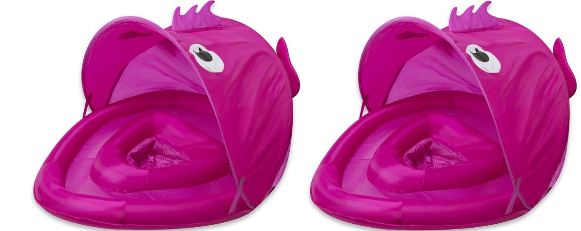 SwimSchool fun fish BabyBoat in blue by aqua leisure Top 10 Best Selling Baby Floats