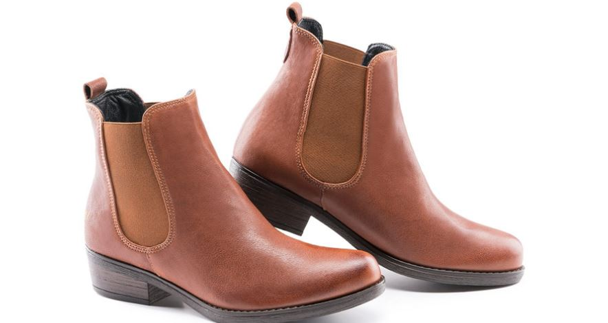 VISCATA Casau 2 heel leather ankle Chelsea boots