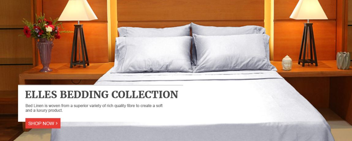 Elle's Collections Bed Sheets 100% Cotton Sheet Set