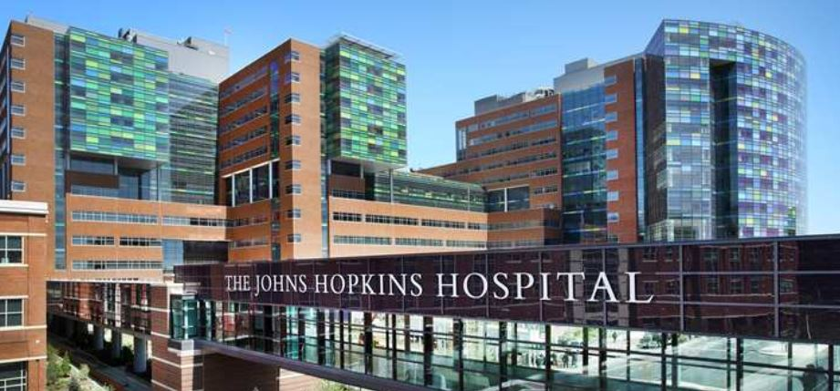 Johns Hopkins Baltimore, Maryland Top Popular Hospitals in World 2018