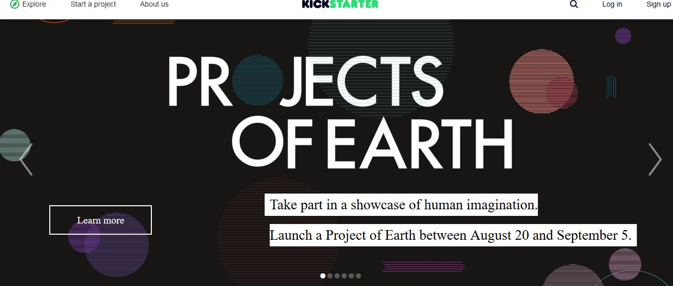 Kickstarter Top Famous Crowdfunding Sites in World 2017