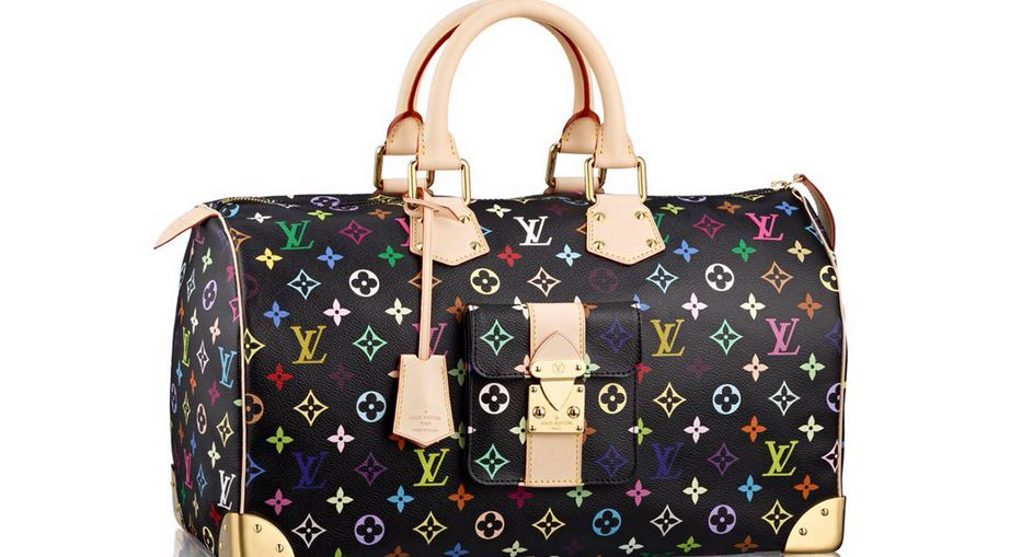 LOUIS VUITTON X MURAKAMI SOLOGNE BAG