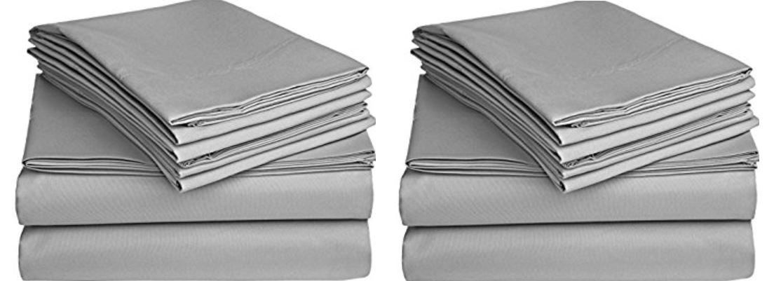 Solid Ivory 300 Thread Count California King Size Sheet