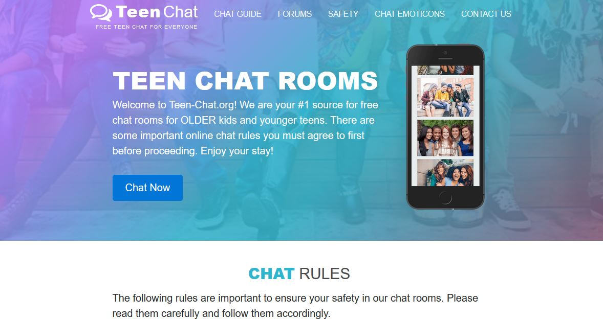 Teen chat sites