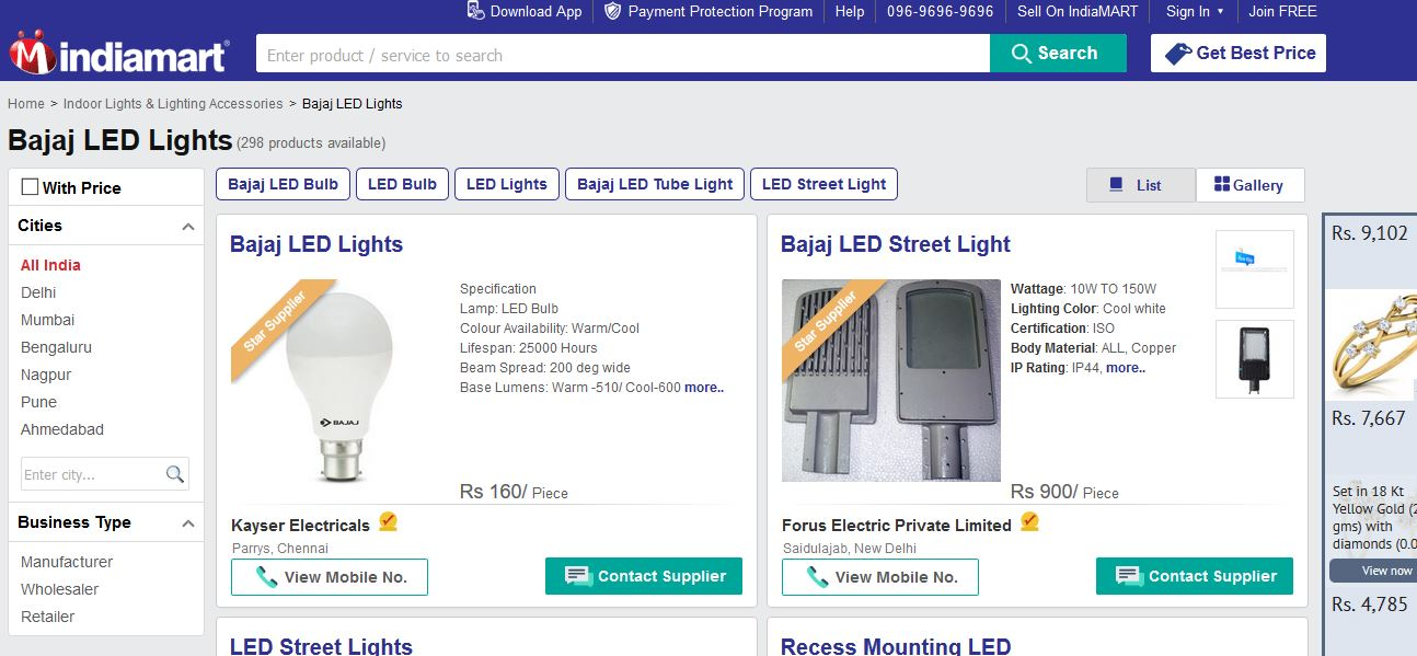 Top 10 best led light companies in india 2017 2018 for Top ten lighting companies