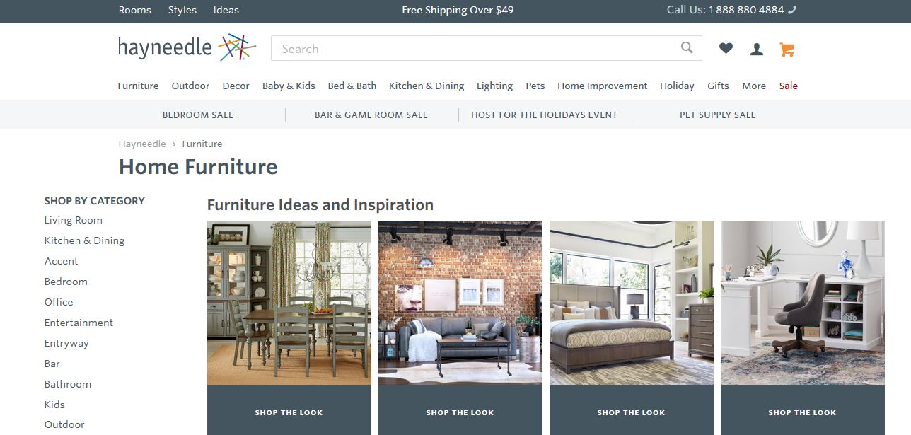 Top 10 best online furniture stores in the world in 2018 for Wholesale furniture stores online