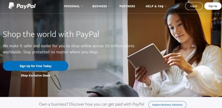 PayPal Top Popular Payment Gateway Providers in India 2019