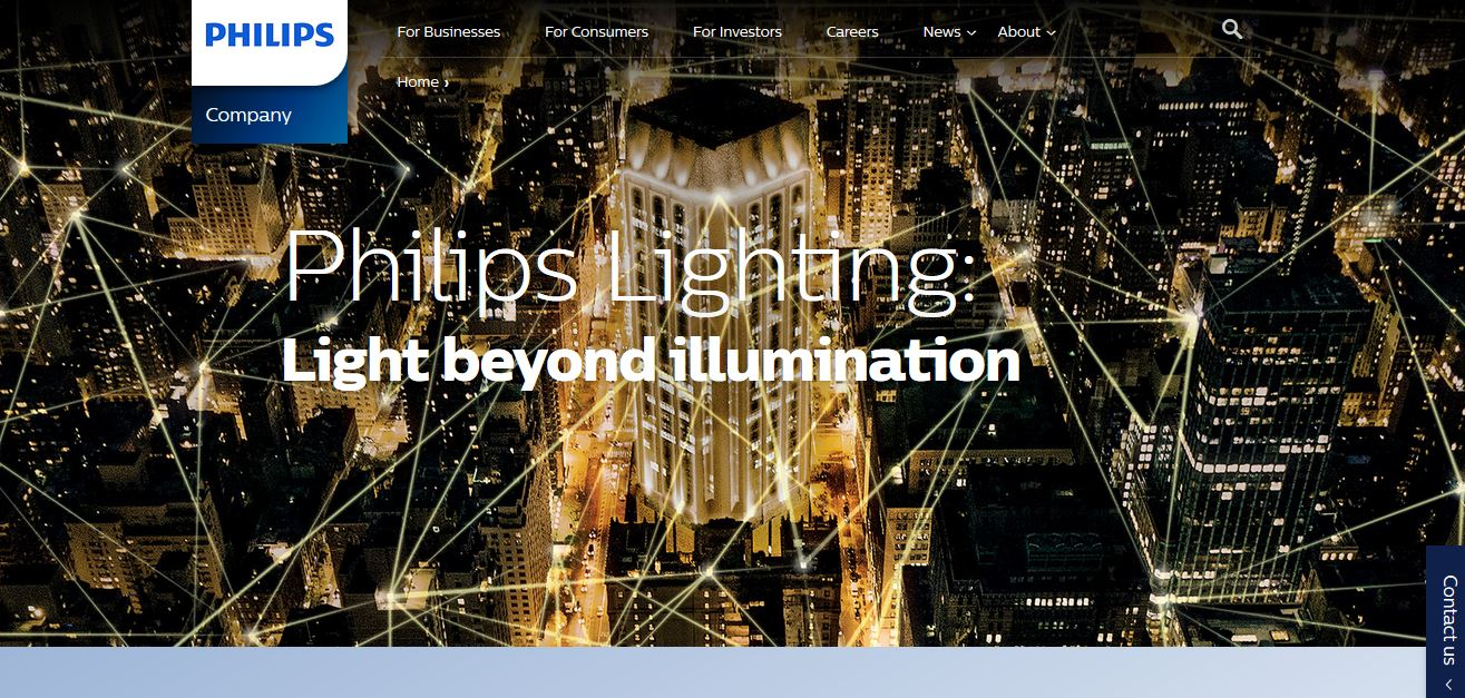 Philips Top Famous LED Companies in India 2018