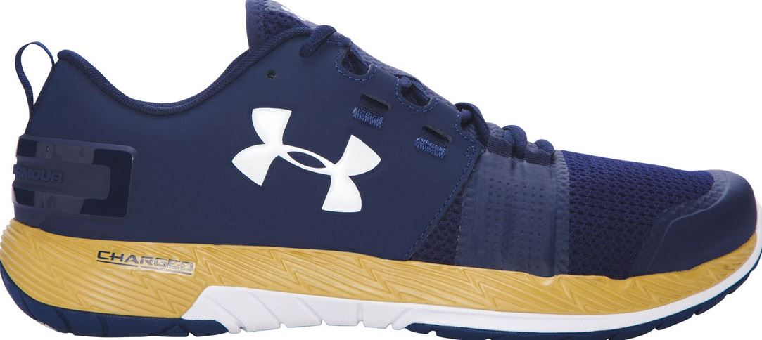 Navy Blue Grey Under Armour Training Shoes