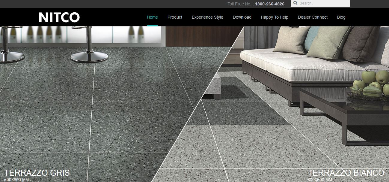 Top 10 best floor tiles companies in the world 2017 2018 nitco tiles india dailygadgetfo Choice Image