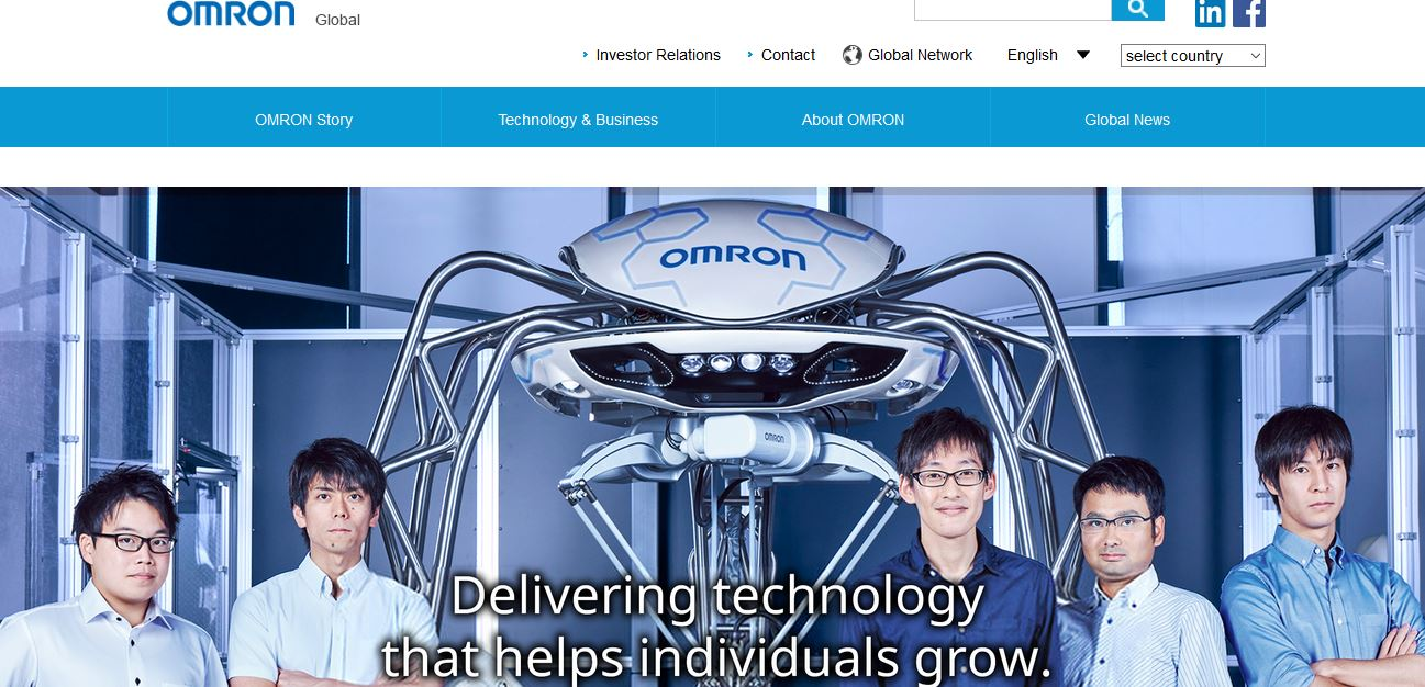 Omron Automation, Japan