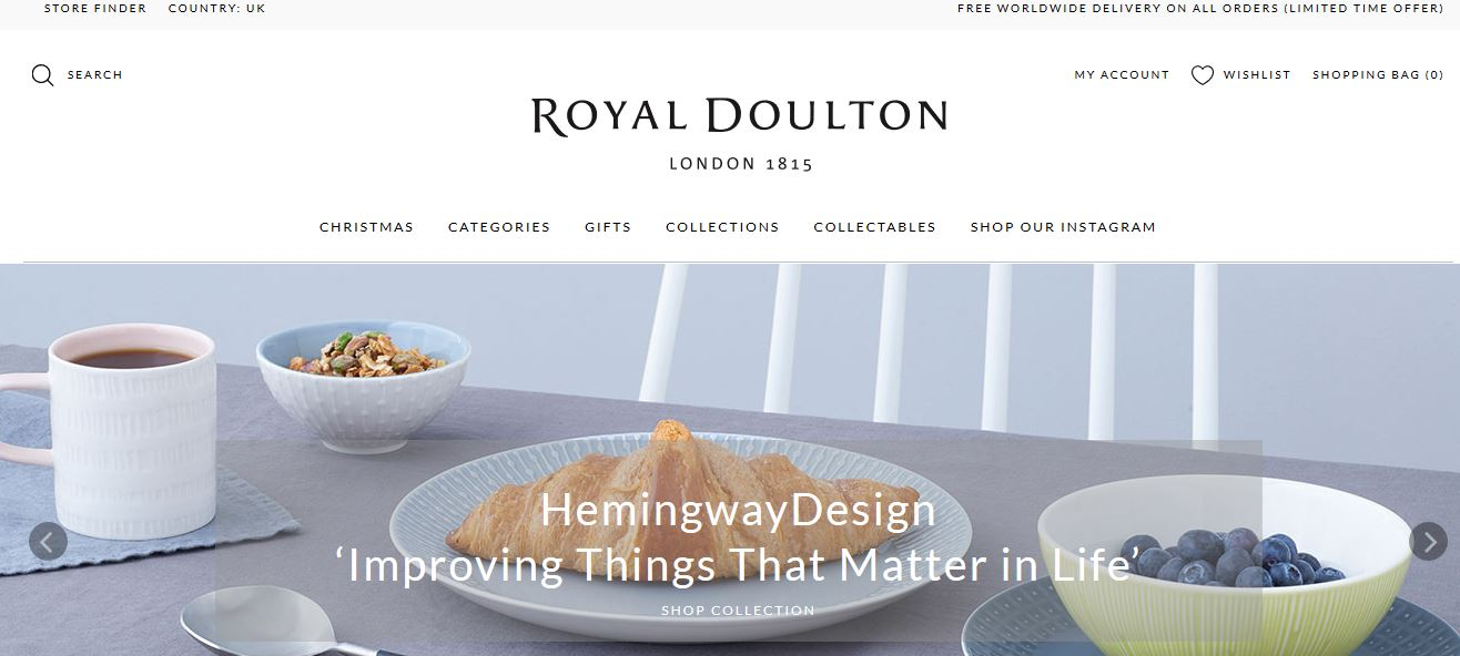 Royal Doulton Top Famous Crockery Brands Available in World 2017