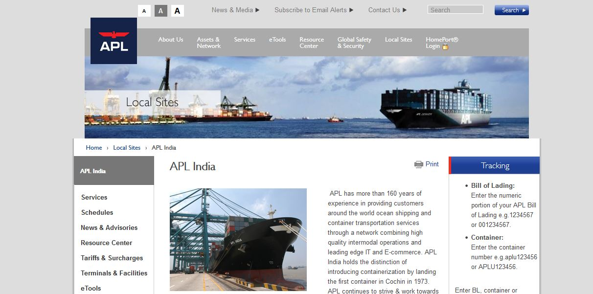 Top Shipping Companies
