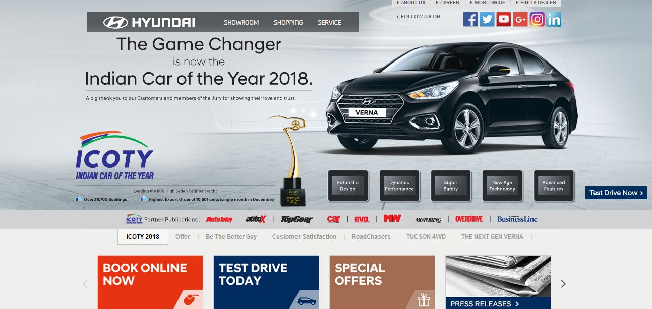 Best Car Companies in India